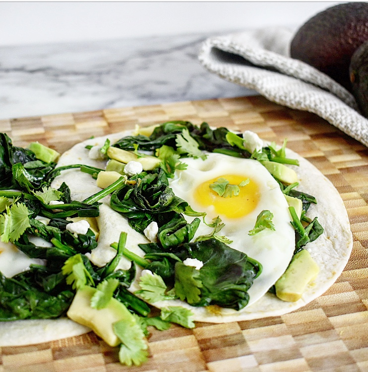 egg taco